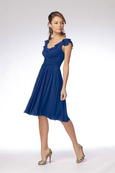 Wtoo Bridesmaid Dress | Weddington Way in Cobalt