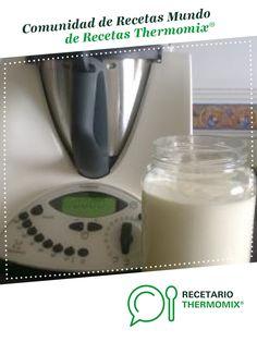 Yogurt griego azucarado por julmusan. La receta de Thermomix<sup>®</sup> se encuentra en la categoría Dulces y postres en www.recetario.es, de Thermomix<sup>®</sup> Cooking Timer, Glass Of Milk, Food, World, Beverage, Dishes, Food Processor, Eten, Meals