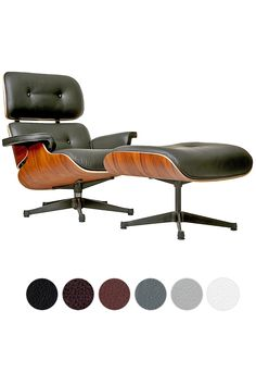 Buy Charles Eames Style Lounge Chair and Ottoman with FREE UK delivery Swivel UK supply the highest quality reproduction furniture to buy online. Charles Eames, Home Office Design, House Design, Eames Style Lounge Chair, Cool Furniture, Furniture Design, Vintage Chairs, Chair And Ottoman, Decoration