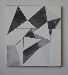 2014 : JEFF DEPNER. SMOKE SIGNAL 2014 15x17 acrylic on canvas