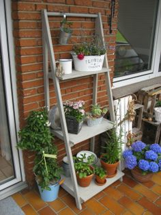 Ringelspatz: Blumenleiter // Bauanleitung