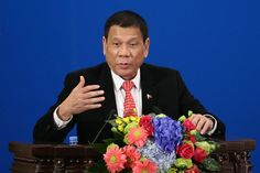 """Philippine President Rodrigo Duterte announced Thursday that he was """"separating"""" from the United States and embracing China as the new best friend of the Philippines."""