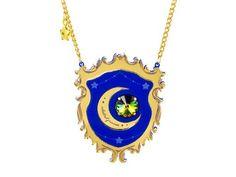 Celestial Princess necklace (blue)