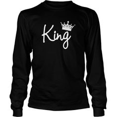 King and Queen Fashion Crowns Tshirts Black men Shirt  Great Birthday Gifts Christmas Gifts #gift #ideas #Popular #Everything #Videos #Shop #Animals #pets #Architecture #Art #Cars #motorcycles #Celebrities #DIY #crafts #Design #Education #Entertainment #Food #drink #Gardening #Geek #Hair #beauty #Health #fitness #History #Holidays #events #Home decor #Humor #Illustrations #posters #Kids #parenting #Men #Outdoors #Photography #Products #Quotes #Science #nature #Sports #Tattoos #Technology…