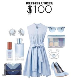 """""""The Budget Dressing!!!"""" by mrudula-26 ❤ liked on Polyvore featuring Chicwish, Miu Miu, STELLA McCARTNEY, Ralph Lauren, Vince Camuto, Orlane and Anastasia Beverly Hills"""