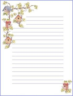 Free printable notepaper from Rainbow Row Graphics DIY Paper Lanterns Paper lanterns come in diverse Free Printable Stationery, Printable Paper, Journal Paper, Journal Cards, Pocket Letter, Diy Paper, Paper Crafts, Lined Writing Paper, Writing Papers