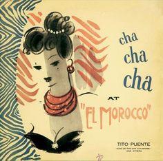 Tito Puente (USA)-1958  Art: Jaro Fabry