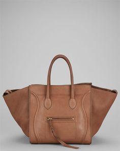 c1f18d750dc Celine Beige Leather Phantom Luggage Tote Celine, Fendi, Purses And Bags,  Clutches,