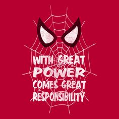 With Great Power by LiRoVi Designs