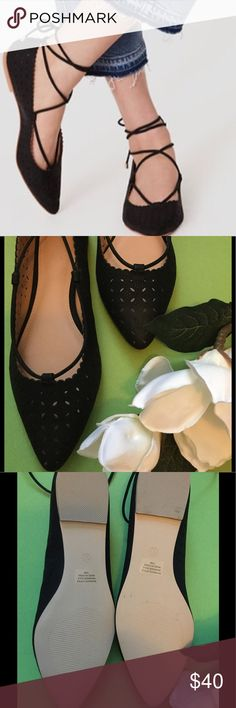 ⚜Ann Taylor Lot Cut-out Lace up Flats size 10⚜ Brand New and Never Worn Ann Taylor Loft lace up cut out flats in black⚜Size 10⚜ PLEASE READ: purchased these beauties and could not wear due to bunions on my feet⚜Photo Credit Ann Taylor Loft⚜ ann taylor loft Shoes Flats & Loafers