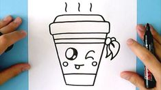HOW TO DRAW A CUTE DRINK - YouTube