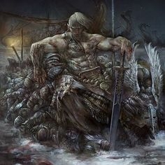 It is a weak king that sits on a throne forged by another. Any country ruled by such is one that will be ruled by me one day. Viking Symbols, Viking Art, Viking Warrior, Viking Woman, Vikings, Fantasy Images, Dark Fantasy Art, Character Portraits, Character Art