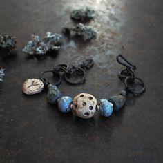 Rune bracelet, custom amulet bracelet, rustic adjustable bracelet, ancient symbol bracelet, norse ceramic bracelet, viking bracelet