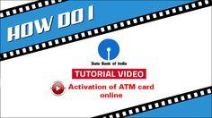 SBI INB: Activation of new ATM card online