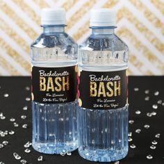 Personalized Bachelorette Bottled Water