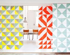 ixxi and studio boot / via bloesem #geometry #interiors