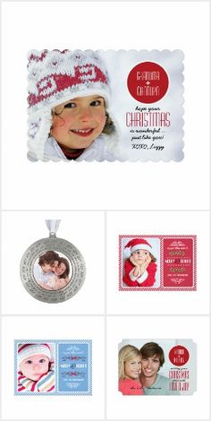 Collection of Christmas and New Year's Photo Cards  and Gifts. at the artofmairin store at zazzle.com