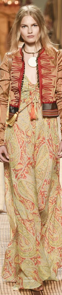 Etro Collections Spring 2017 Ready-to-Wear Collection