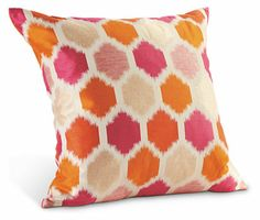 Trellis Pink Pillow - Pillows - Accessories - Room & Board (couldn't help pin this from Room & Board's grown up collection) #roomandboard #yolocolorhouse #annies