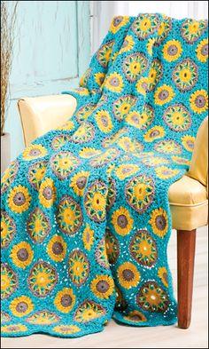 Galaxy Throw crochet pattern from Crochet World April 2013. Order here: http://www.anniescatalog.com/detail.html?prod_id=99721