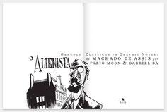 Grandes clássicos em graphic novel / Laboratório Secreto Design Studio
