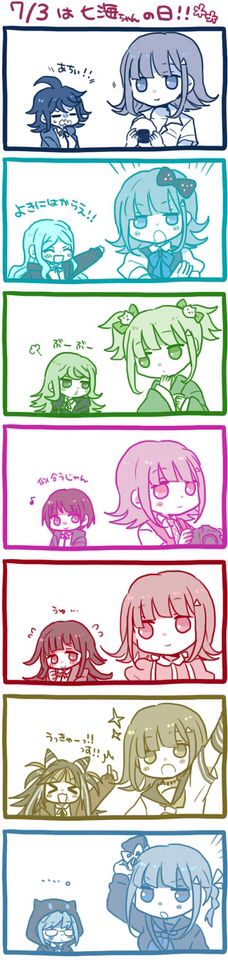 Chiaki and the girls