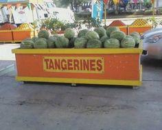 tangerine watermelons