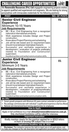 Jobs Available For Construction Of Koto Hydro Power Project