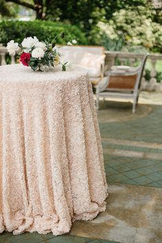 La Tavola Fine Linen Rental: Amelia Peachstone over Topaz Parchment   Photography: Apryl Ann Photography, Event Design & Planning: Birds Of A Feather Events, Venue: Aldredge House, Floral: The Southern Table