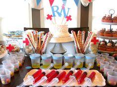 Vintage Gwen: Soiree Day-Nursing School Grad Party Roundup