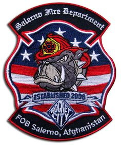 Salerno Fire Department Patch