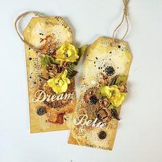 Just My Scrapping World.. : A tag set for Donna Salazar Designs and Manor House Creations!