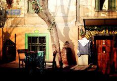A scene from Belgrade's bohemian quarter