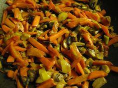 Pirított zöldség köret