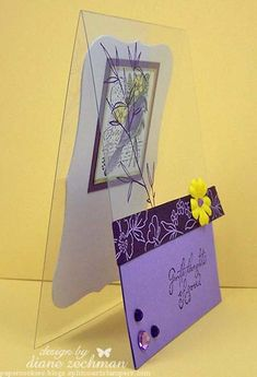 Splitcoaststampers: FOOGallery - gentle thoughts acetate- side Techniques - Crafts & Projects Gallery
