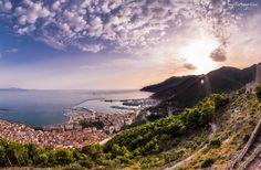 Salerno | Panorama by Sabrina Campagna on 500px Claude Monet, Shots, River, Explore, Mountains, Nature, Outdoor, Outdoors, Naturaleza