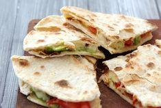 Quesadilla's met avocado en geitenkaas