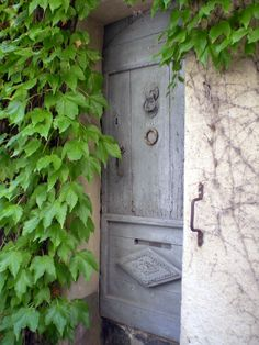 So many lovely doors of charm in Ramatuelle South of France