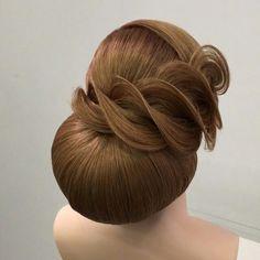 Futuristic wedding hairstyle