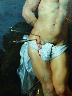 SAINT-SÉBASTIEN - 1614 #rubens #toile #peinture #painting #stsebastien #stsebastian #art #flamand #maitre #master #baroque #1614