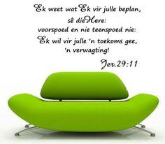 BYBEL VERS JEREMIAH 29:11 (AFRIKAANS) INSPIRATIONAL BIBLE VERSE WALL ART STICKER…