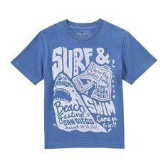Toddler Boys' Sea Graphic Tee