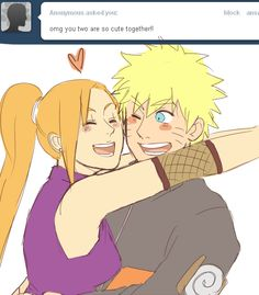 Ask either Naruto, Ino, or both some questions! This is a pairing journal (obviously) so press back if you're not into these two. askbox closed (so i can catch up lol) Naruto Couples, Naruto Girls, Anime Couples Manga, Naruto Comic, Naruto Funny, Anime Naruto, Shikamaru, Naruto Uzumaki, Boruto