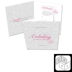 Die bezaubernde Hochzeitseinladung mit den verspielten Ornamenten und dem fantastischen Hochzeitsmonogramm ist romantisch und stillvoll zugleich. Tipp: Hinter diesem Hochzeitkarten Set verbirgt sich ein tolles Textkonzept. Monogram, Card Wedding, Concept, Tips, Ideas