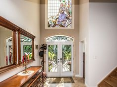 146 Spring Blvd, Port Perry - stunning foyer Foyer, Mirror, Spring, Furniture, Home Decor, Decoration Home, Room Decor, Mirrors, Home Furnishings