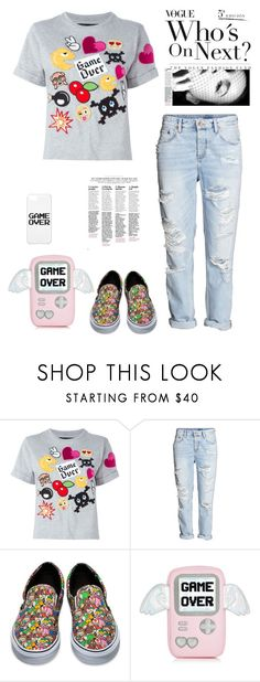 """""""Oxen Soho"""" by nazarethperezstar ❤ liked on Polyvore featuring Philipp Plein and Vans"""