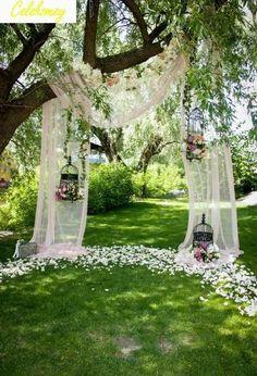 Fall Wedding, Wedding Ceremony, Our Wedding, Wedding Venues, Dream Wedding, Backdrop Wedding, Outdoor Ceremony, Wedding Arches, Ceremony Backdrop