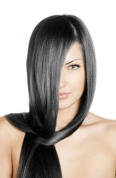 33 Flattering Dark Hair Colors for Every Skin Tone in 2020 - dark-straight-ash-brown-hair. Love what a cool brown, almost black color this is. Dark Ash Brown Hair, Hair Color For Black Hair, Shiny Hair, Brown Hair Colors, Black Ash Hair, Hair Colours, Ash Grey, Winter Hairstyles, Pretty Hairstyles