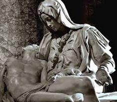 La Pieta by Michelangelo Buonarotti. Peter's Basilica in the Vatican City. Pieta Statue, La Pieta, Miguel Angel, Italian Painters, Italian Artist, Michelangelo Pieta, Michelangelo Sculpture, Art Ninja, Renaissance