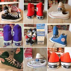 Blog再開 | American Vintage Converse Vintage, Vintage Shoes, Vintage Outfits, Vintage Clothing, Chuck Taylor Shoes, Converse Star, All Star, High Top Sneakers, Boys